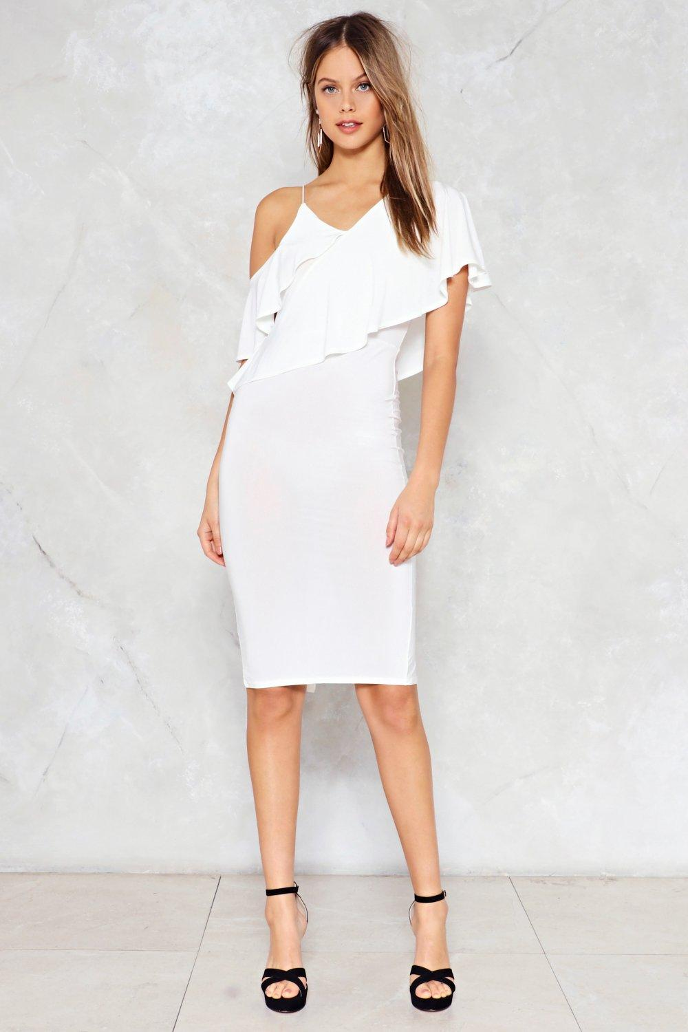 East to West Ruffle Dress | Shop Clothes at Nasty Gal!