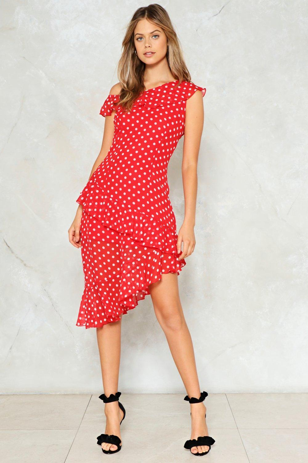 Some Like It Dot Polka Dot Dress | Shop Clothes at Nasty Gal!