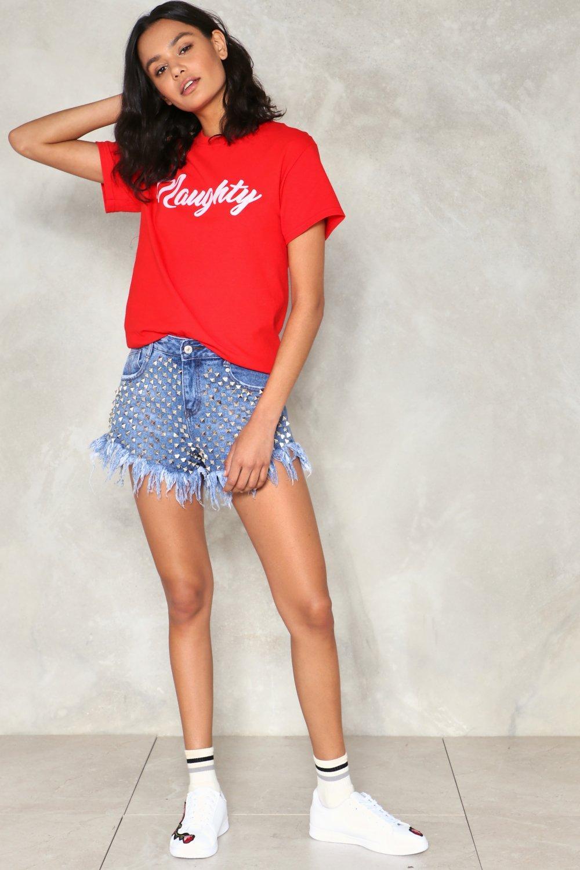 Naughty Girl Tee.