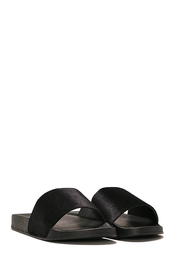 The Soft Parade Velvet Slide Sandal