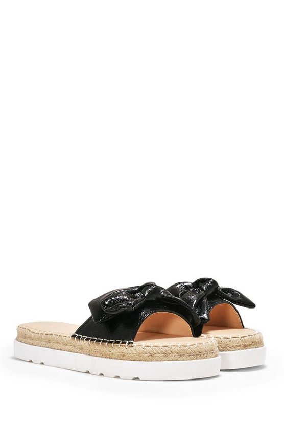 Bow Way Out Espadrille