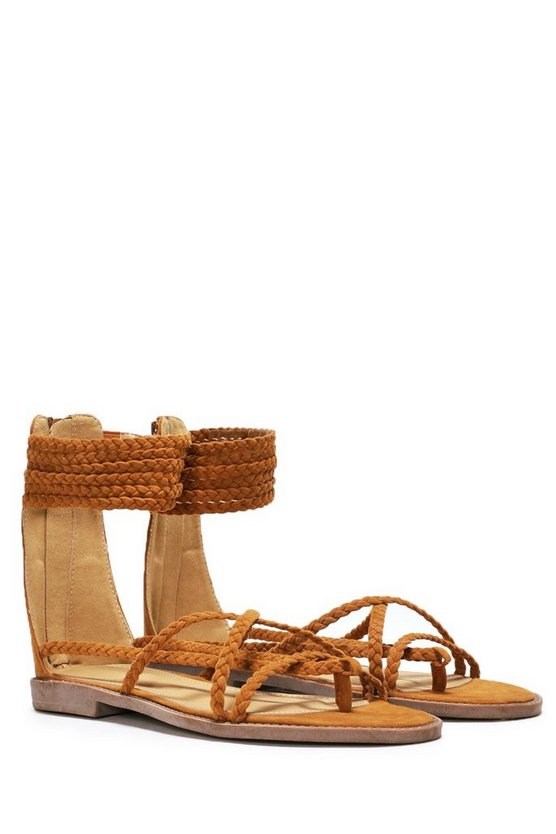 Show Me the Ropes Strappy Sandal