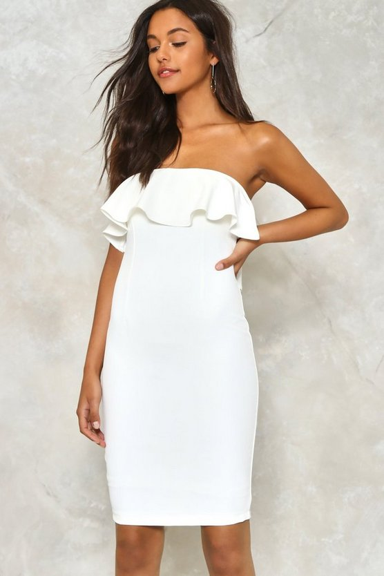 Here Comes the Sun Ruffle Dress