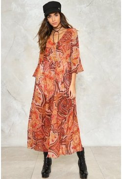 The Price You Paisley Maxi Dress