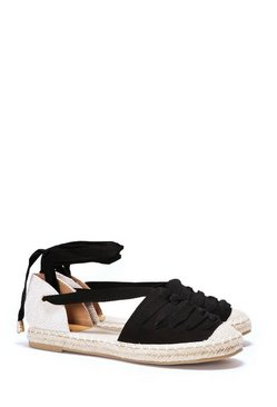 Double Cross Me Lace-Up Espadrille