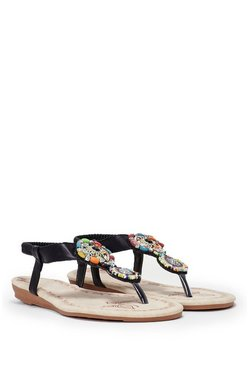 Stone to Pick Embellished Sandal