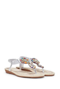 Stone to Pick Embellished Sandals