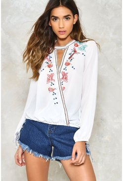 Grow On Floral Blouse
