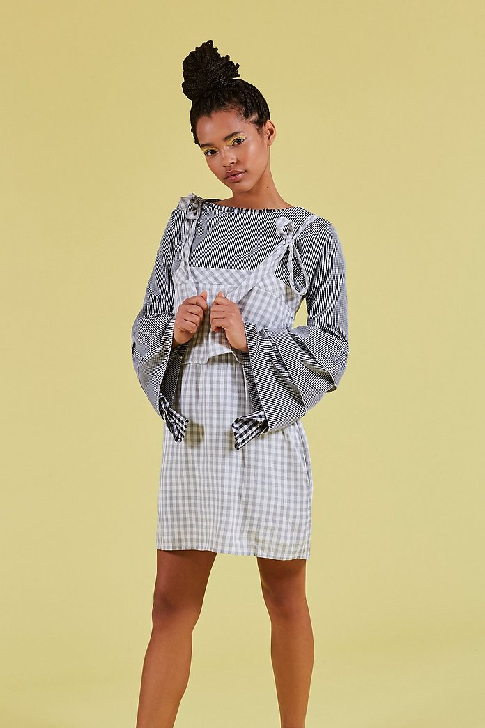 Beachwood Gingham Dress