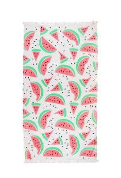 Watermelon Print Beach Towel