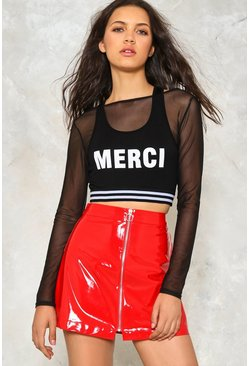 Merci Crop Top