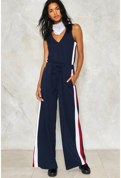 Straighten Your Act Jumpsuit