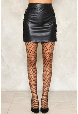 Medium Scale Fishnet Tights