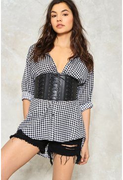 Pull It Together Triple Corset Belt