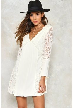 Stuck On You Lace Dress