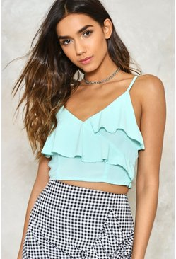 Layer Eyes On This Ruffle Bralette