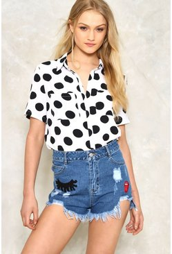 Shut Eye High-Waisted Cutoffs