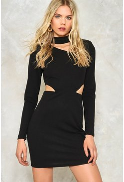 Cut It Out Bodycon Dress