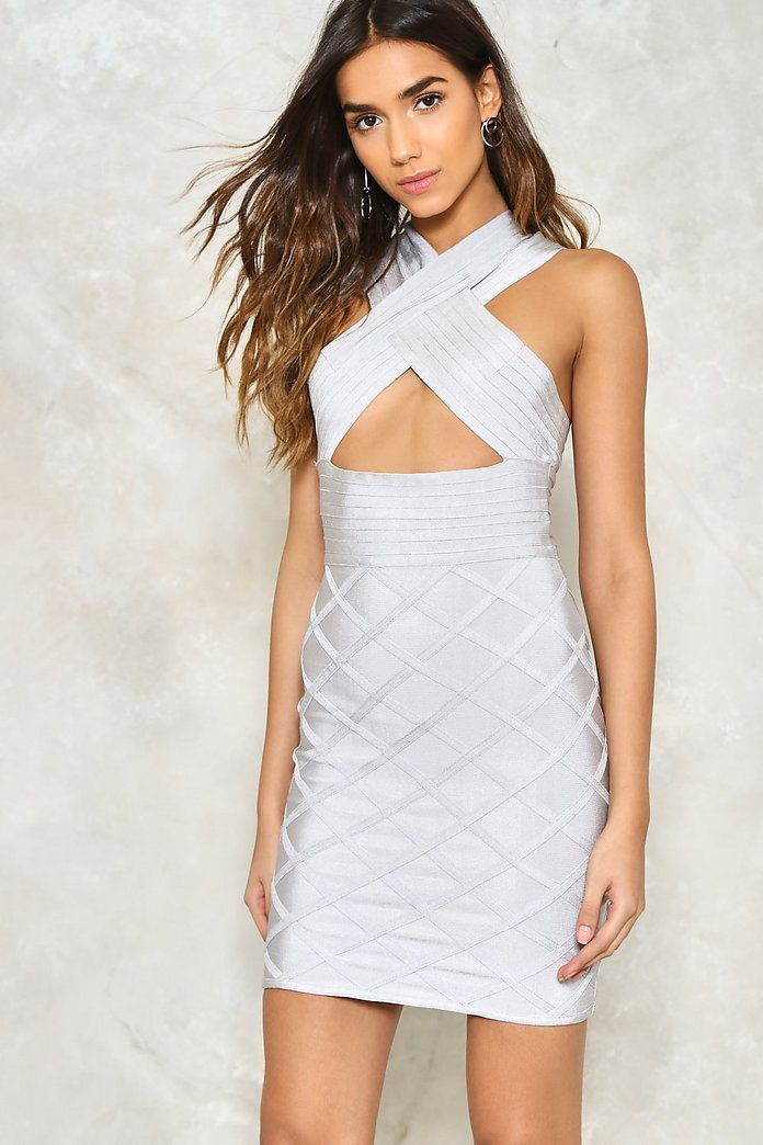 Crossroads Bandage Dress