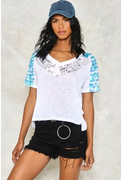 Mermaid Sequin Tee