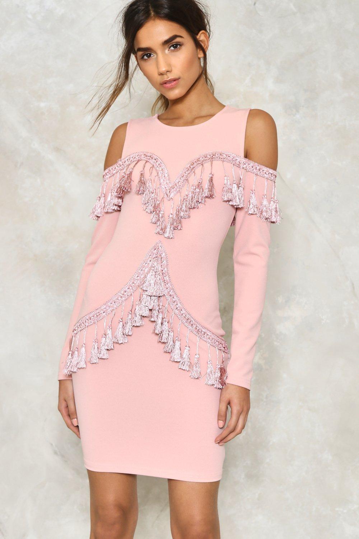 Tassle dress image