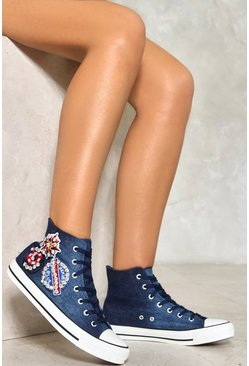 Later Sailor Embellished Sneakers