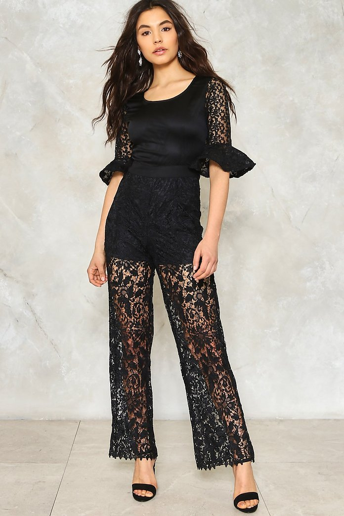 Wicked World Lace Jumpsuit