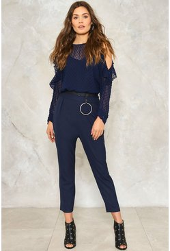 Eloise Cold Shoulder Jumpsuit