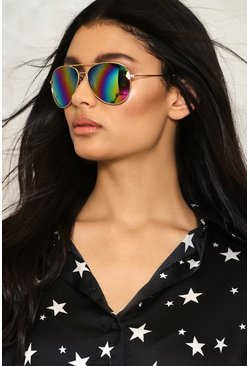 Rainbow's End Aviator Shades