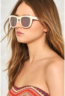 Alley Cat-Eye Velvet Shades