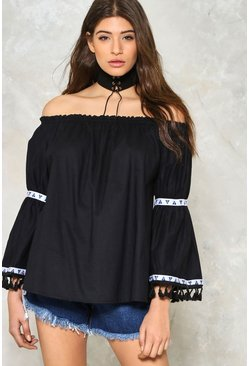 The Phoebe Off-the-Shoulder Blouse