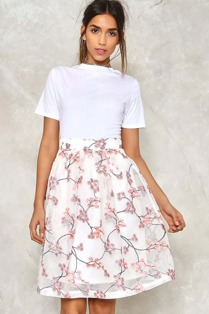 Flower of the Mountain Mesh Skirt