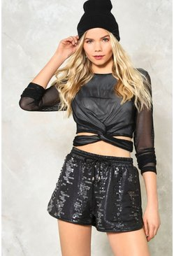 Willow Mesh Crop Top