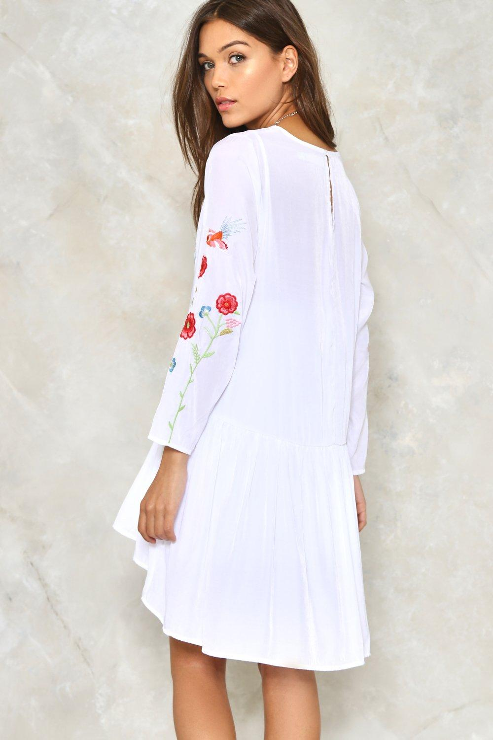 Full bloom embroidered dress shop clothes at nasty gal full bloom embroidered dress ccuart Images