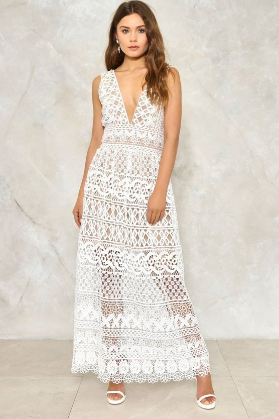 Isobel Crochet Dress