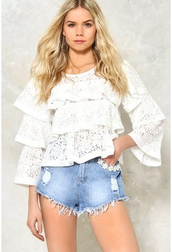 Fresh as a Daisy Distressed Cutoffs