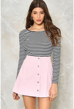Sugar We're Goin' Button Down Skirt
