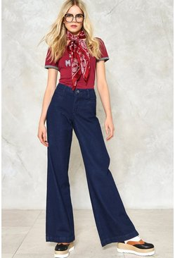 Go Far Wide-Leg Jeans