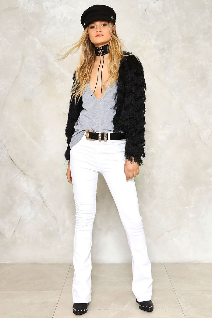 Flares and Graces High-Waisted Jeans