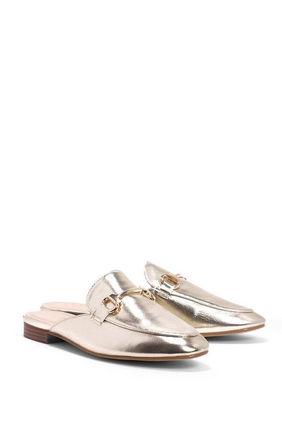 Let It Slide Metallic Mule