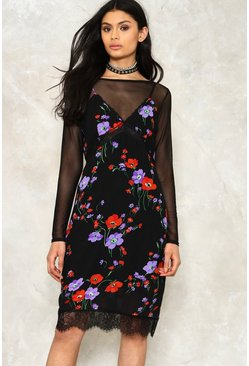 Lace of the Ex Floral Dress