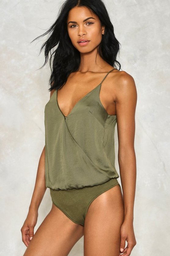 Get Together Wrap Bodysuit