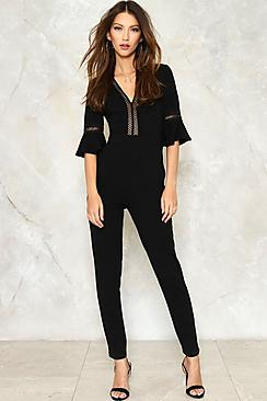 Ladder Trim Jumpsuit