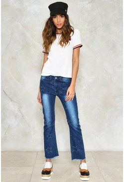 Shooting Star Flare Jeans