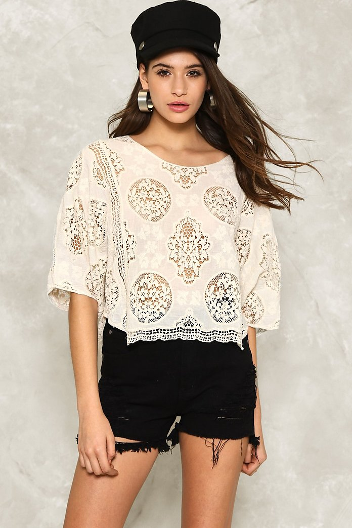 Knit Gets Better Crochet Top