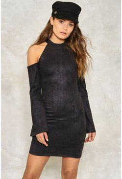 Sleeve It at That Cold Shoulder Dress