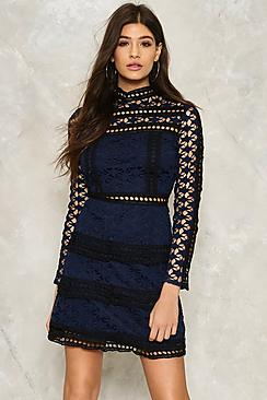 Crochet Star Lace Dress
