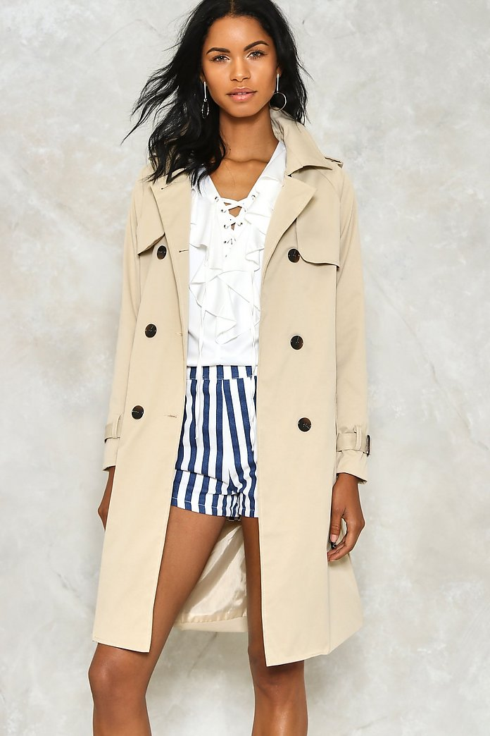 Rain Check Trench Coat