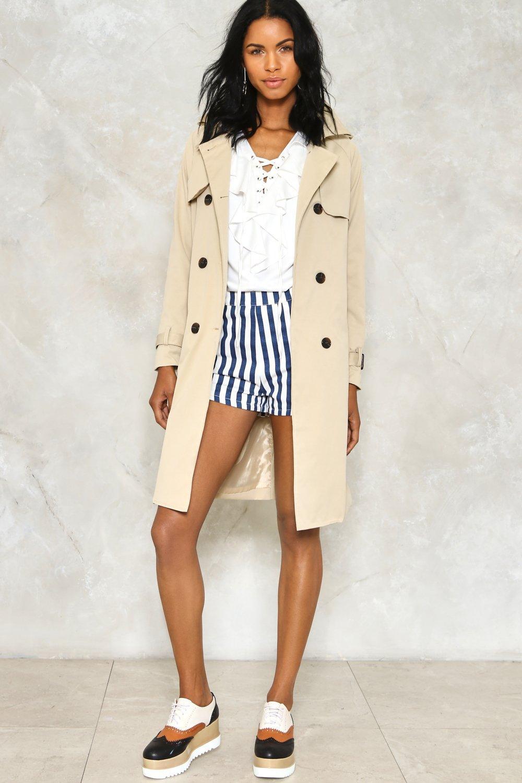 Rain Check Trench Coat   Shop Clothes at Nasty Gal!