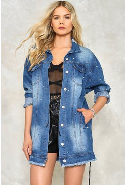 Go Long Denim Jacket
